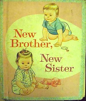 New Brother, New Sister (#564 Little Golden: Fiedler, Jean; (illustrator)