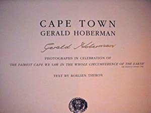 Cape Town *SIGNED*: Hoberman, Gerald;Theron, Roelien
