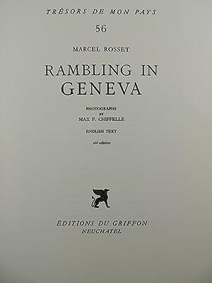 Rambling in Geneva: Rosset, Marcel; (photos) Chiffelle, Max F.
