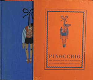 Pinocchio - The Adventures of a Marionette: C. Collodi; (Illustrator)