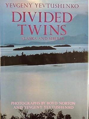 Divided Twins: Alaska/Siberia *SIGNED*: Yevgeny Yevtushenko; (photographer)
