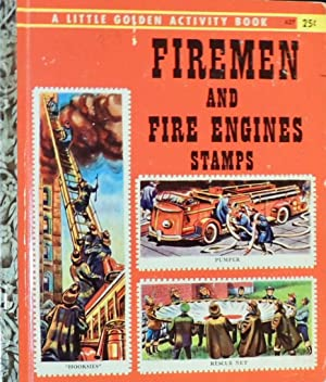 Firemen and Fire Engines Stamps (#A27 Little: Jane Goldsmith; (illustrator)