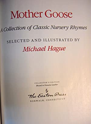 Mother Goose (Bound in Leather): Hague, Michael