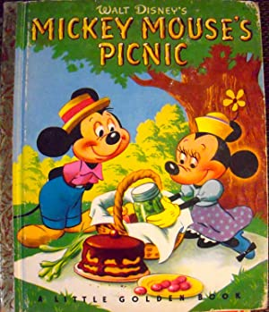 Mickey Mouse's Picnic (#D15 Little Golden Book): Werner, Jane; (illustrator)