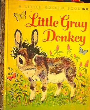Little Gray Donkey (#206 Little Golden Book): Lunt, Alice; (illustrator)