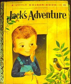 Jack's Adventure (#308 Little Golden Book): Hurd, Edith Thatcher;