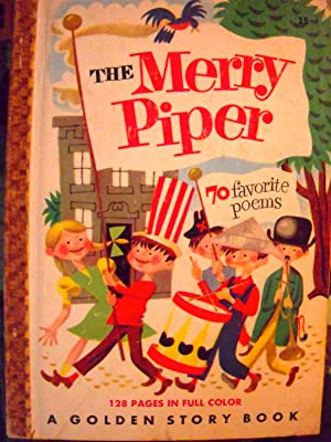 The Merry Piper (#15 Golden Storybook): Rockwell, Harlow (illustrator)
