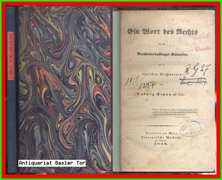 Vialibri ~ (1311247) ..Rare Books From 1849