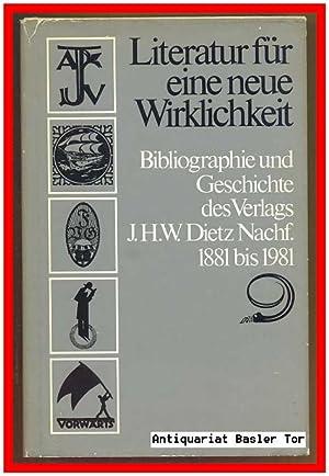 Literatur für eine neue Wirklichkeit. Bibliographie und: Emig, Brigitte, Max