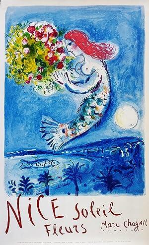Nice Soleil Fleurs: Chagall Marc