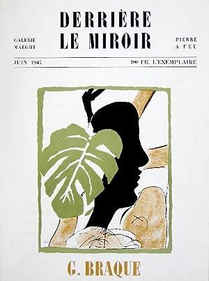 Derriere le miroir by braque abebooks for Miroir paris 18