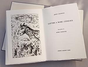 Lettre à Marc Chagall.: Chagall Marc -