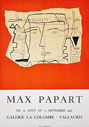 Lithographie: Max Papart