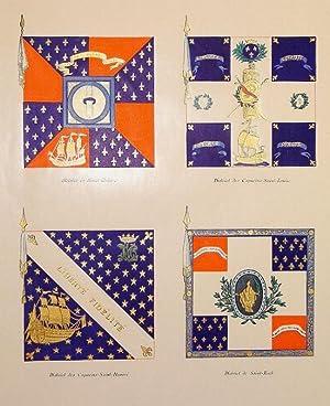 Les Drapeaux De La Garde Nationale de: LACHOUQUE COMMANDANT HENRY