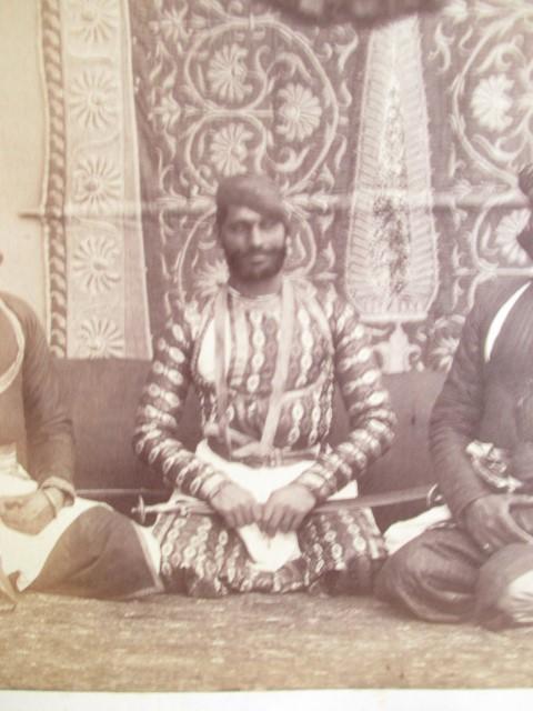 A group Jat Sirdars,Hindu Rajputs, probably