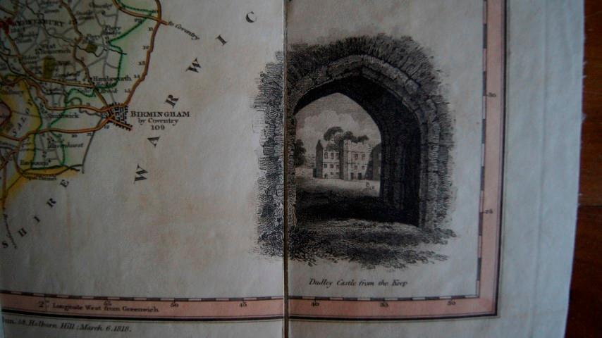 A New Map of the County of Stafford, Divided Into Hundreds, By Thomas Dix. 1818: Dix, Thomas