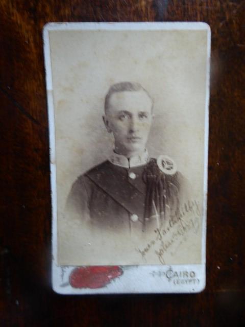A Carte De Visite Portrait Circa 1900 Of Sergeant The Seaforth Highlanders