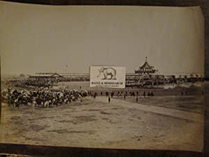 The Imperial Assemblage, Delhi 1877. An Original Vintage Photograph of the Arena Showing the ...