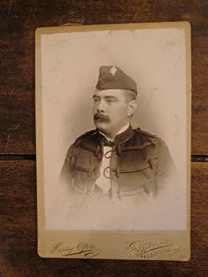 Duke of Cornwall's Light Infantry. A Cabinet Portrait of a Lieutenant in the 3rd Volunterr ...
