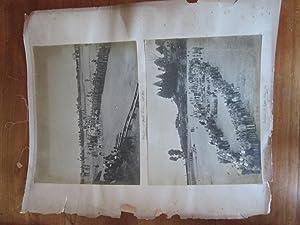Darjeeling, Lebong. Vintage Photogrpahs of British Soldiers at a Sports Meeting.