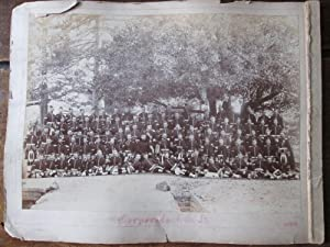 Gordon Highlanders. A Photographic Group Portrait of the Band of the 1st Bn Gordon Highlanders, ...