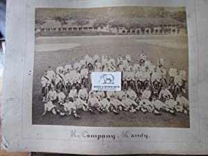 Royal Artillery, No 12 Eastern Division at Campbellpore, Circa 1895, Showing the Heavy Guns Pulled ...