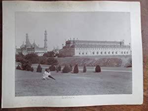 The Residency, Lucknow, Fine View of the Post Mutiny Ruibns with an Indian in the Foreground. On ...