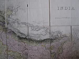 INDIA 1902. Folding Map.: Survey of India