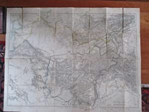 WYLD'S MILITARY STAFF MAP OF CENTRAL ASIA: Wyld