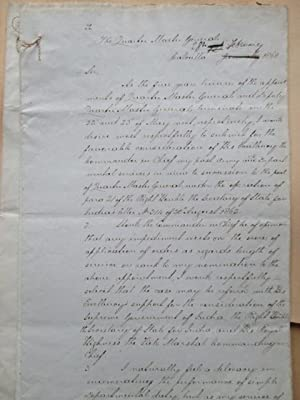 A Manuscript Record of Lumsden's Services in India and Afghanistan Preceded by a Letter of ...