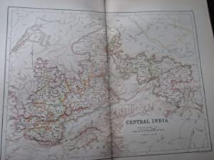 Map of Central India: Hunter, Sir William