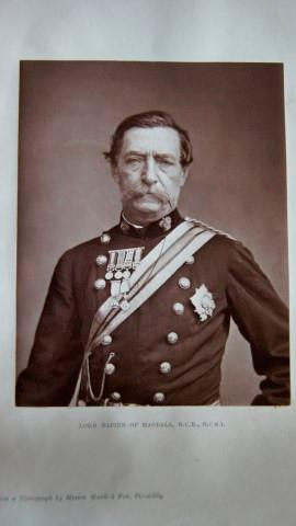 General Sir Robert Napier, Later Lord Napier of Magdala, G.C.B., GC.S.I. An Original Photograph of ...