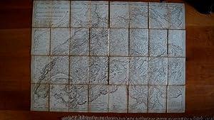 Carte De Suisse Suivant Sa Nouvelle Division En XVIII Cantons Formant al Republique Helvetique. ...