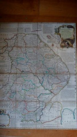 An Accurate Map of Lincolnshre, Divided Into Its Wapentakes, Laid Down from the Best Authorities ...