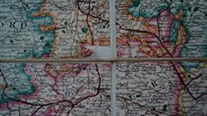 England and Wales, founded Upon he Grand Trigonometrical Survey; Shewing All the Mail Coach, ...