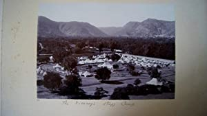 The Viceroy's Staff Camp. A Good Vintage Photograph Taken During a Visit By Lord Minto to the Mah...