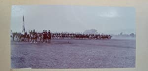 Parade of the Alwar Brigade Lancers Before the Viceroy of India, Lord Minto, During a Formal Visi...