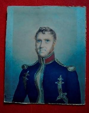 Capt T Nicholl, 1st Bengal Artillery, Miniature