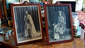 Lord & Lady Brabourne. Pair of Original Vintage Photographs of the Governor of Bengal & His Wife ...
