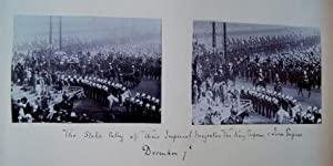 Delhi Durbar 1911. The State Entry during the Imperial Coronation Durbar showing Their Imperial ...