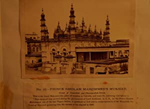 Prince Gholam Mahommed's Musjeed. A Vintage Photograph Circa 1870s.: Westfield & Co