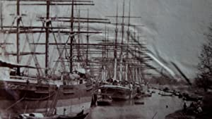 Shipping Moored on the Hooghly River, Calcutta, Circa 1860