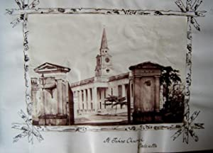 St John's Church, Calcutta. A Vintage Photograph By Westfield, Probably 1865-75