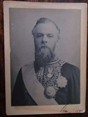 Earl of Elgin and Kincardine, Viceroy of India 1894-99. An Original Photographic Portrait in Unif...