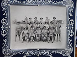 Royal Engineer Officers in India, Vintage Photographic Portrait