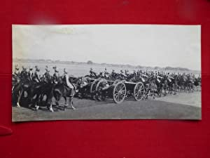 Gwalior Artillery, Imperial Service Troops. A Good Vintage Photogrraph of the Artillery with Thei...