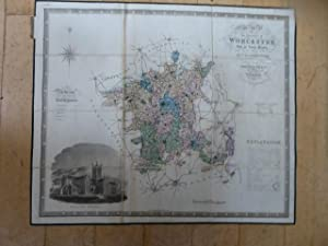 Map of the County of Worcester, from an Actual Survey Made in the Years 1820 & 1821 By C & I Gree...
