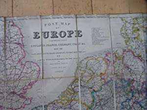Post Map of Europe Comprehending England, France, Germany, Italy &c. With the Posts. Distances, R...