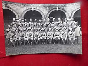 Royal SIgnals in India. A Good Group Portrait of a Unit in India, Wearing Medals, Circa 1930s