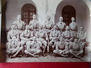 British Officers in India. An Unidentified Group Wearing Service Dress with Double Strap Sambrown...